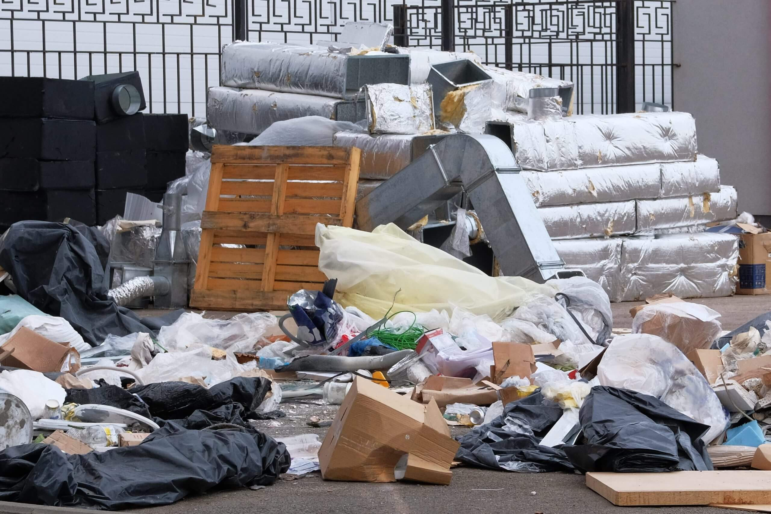 Public Housing Rubbish Removal